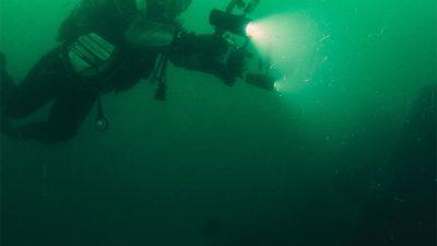 Podwodne badania u wybrzeża Kołobrzegu