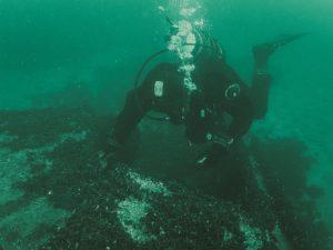 12 300x225 - Podwodne badania u wybrzeża Kołobrzegu