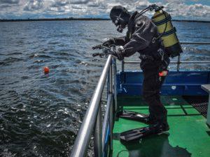 14 300x225 - Podwodne badania u wybrzeża Kołobrzegu