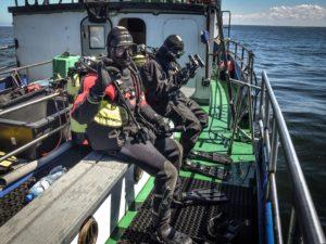 35 300x225 - Podwodne badania u wybrzeża Kołobrzegu