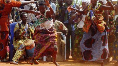 Taniec z Afryki w kołobrzeskim RCK