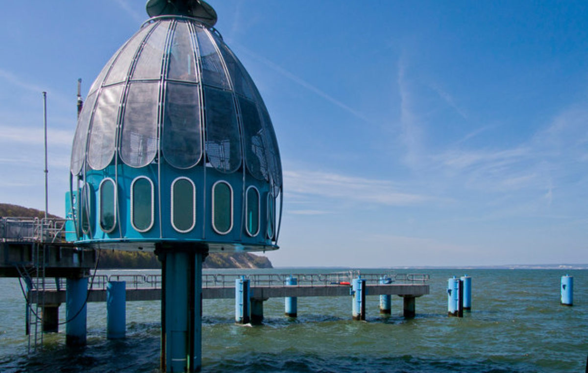 Windą… na dno Bałtyku