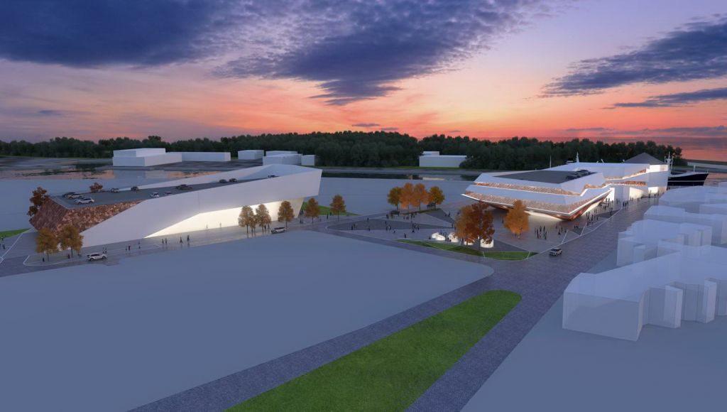 termina w Kołobrzegu 1024x580 - Projekt terminala pasażerskiego w porcie wygląda imponująco