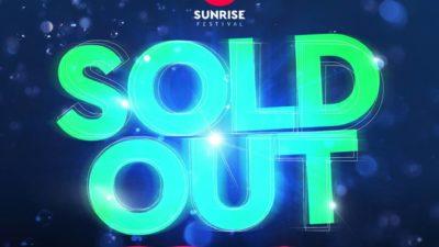 Sunrise Festival sprzedany!