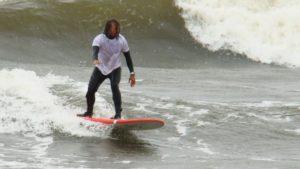 Surferzy nad Bałtykiem