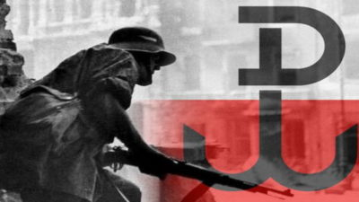 Uroczystość patriotyczna w 77. rocznicę wybuchu Powstania Warszawskiego i Akcji Burza