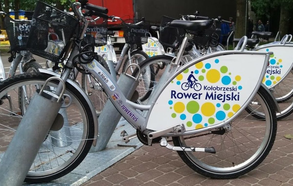 Kołobrzeg drugim miastem w kraju gdzie rower miejski cieszy się największą popularnością. Wyprzedziła nas tylko Warszawa