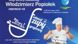 Sobota, Grzybowo, Festiwal Zupy Grzybowej, start godz. 16, wstęp wolny