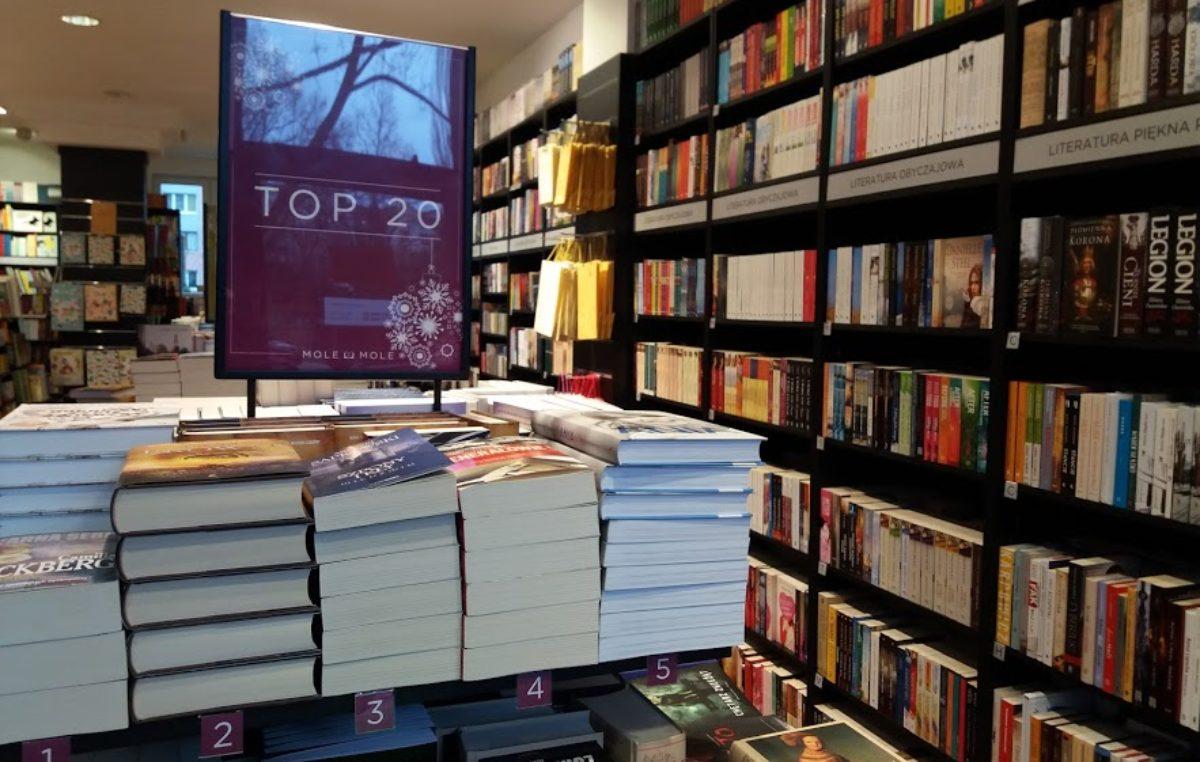 Księgarskie TOP 5, czyli najczęściej kupowane książki we wrześniu w Kołobrzegu