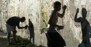 Happening graffiti: Kto pamięta upalny wrzesień 2004 roku? (+zdjęcia archiwalne)