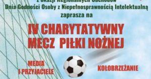 W piątek IV Charytatywny Mecz Piłki Nożnej. Wstęp wolny