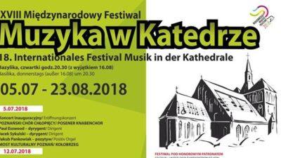 """Rozpoczyna się Międzynarodowy Festiwal """"Muzyka w katedrze"""". Na początek Poznański Chór Chłopięcy"""
