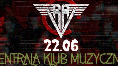 Piątek, klub Centrala, koncert zespołu, ReVoltA, godz. 19, wstęp wolny