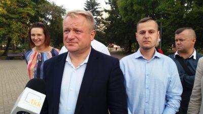 Jacek Woźniak apeluje o poparcie. Jako pierwszych wymienił prawicowych wyborców Macieja Bejnarowicza