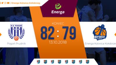 Porażka koszykarskiej Kotwicy z Pogonią Prudnik