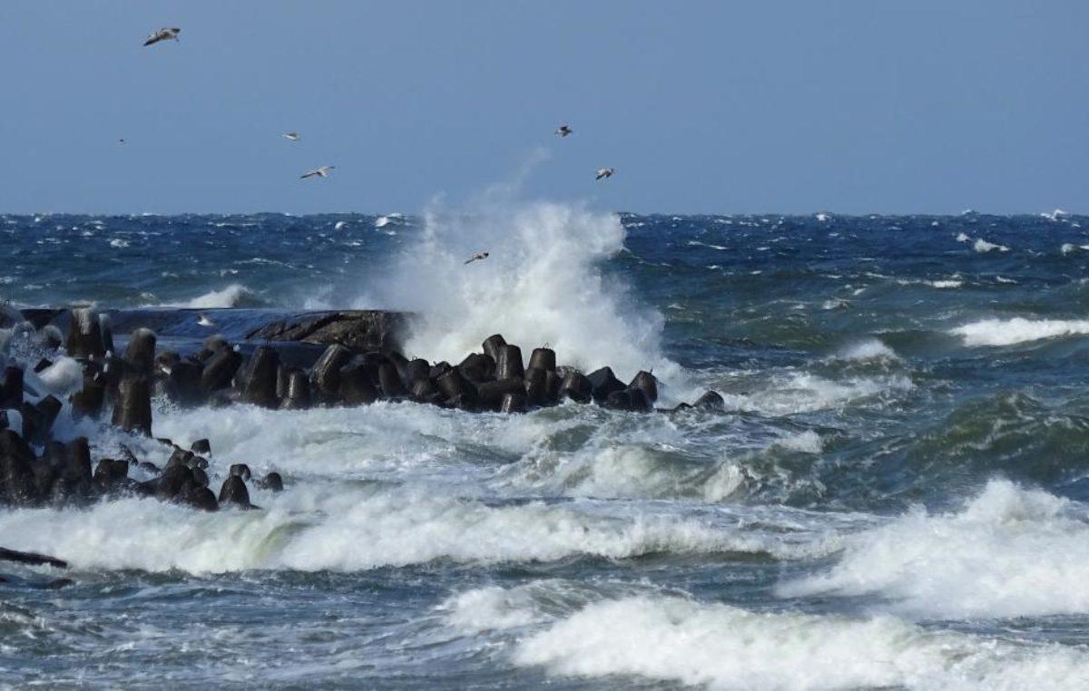 Kolejne ostrzeżenie pogodowe. Na Bałtyku sztorm