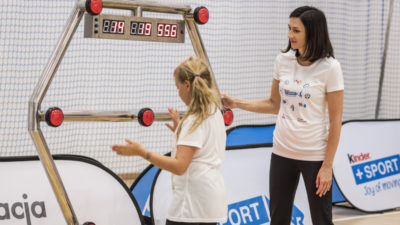 Interaktywny świat sportu na lekcjach WFuz Moniką Pyrek. Mistrzyni przyjedzie do Kołobrzegu w poniedziałek