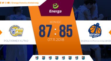 Mecz Energi Kotwicy: Dwa Punkty Zostały w Kutnie (relacja)