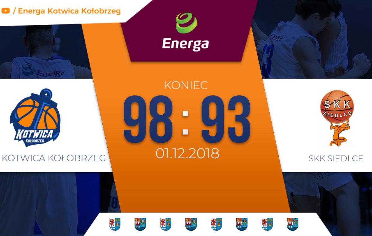Energa Kotwica Kołobrzeg: Dreszczowiec z happy endem (relacja z meczu)