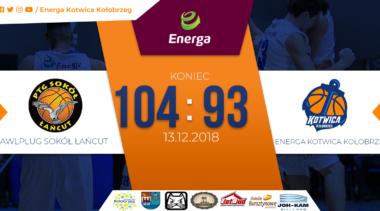 Przegrany mecz Energi Kotwicy (relacja z meczu)