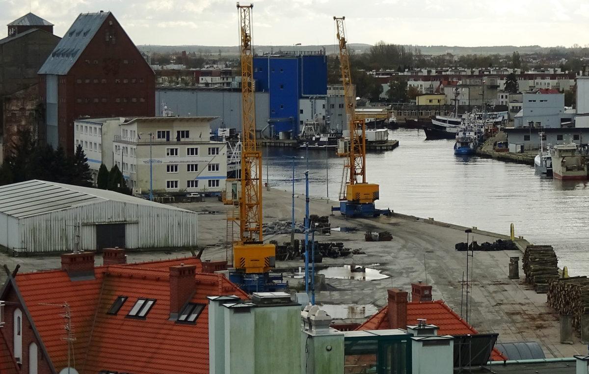 Dobry wynik kołobrzeskiego portu. Przypływa głównie kruszywo, a odpływa drewno