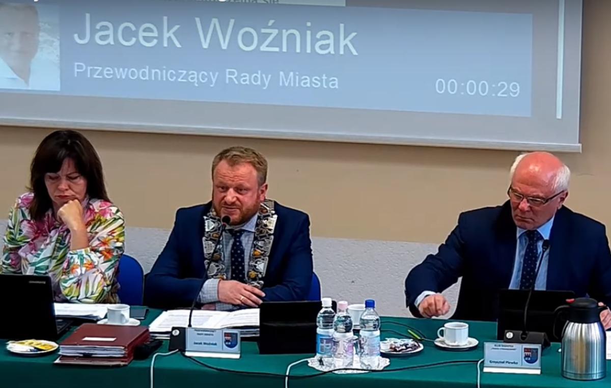 Całkiem nowe prezydium Rady Miasta. Jacek Woźniak odwołany