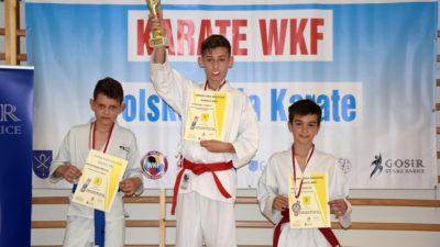 Gratulacje! Wiktor Wojarski z klubu Morote z brązowym medalem Grand Prix Mazovia Karate WKF