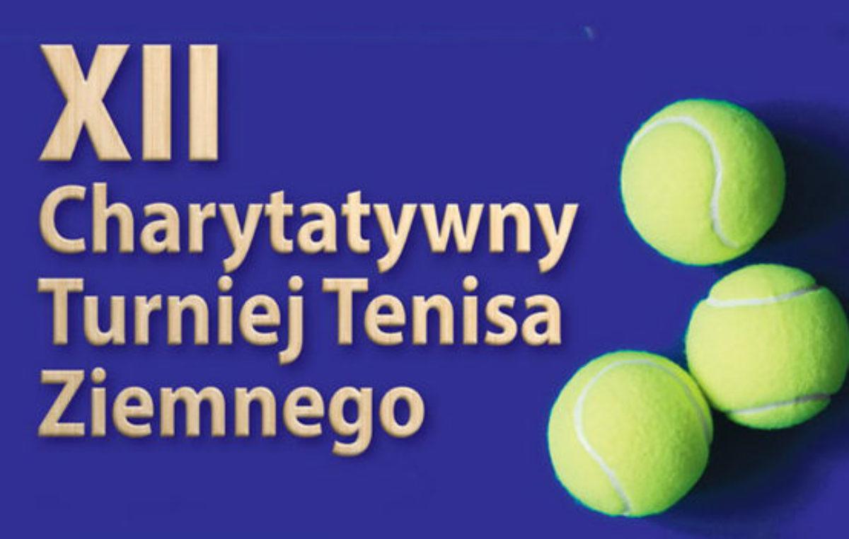 Piątek/sobota/niedziela, korty tenisowe, XII Charytatywny Turniej Tenisa Ziemnego