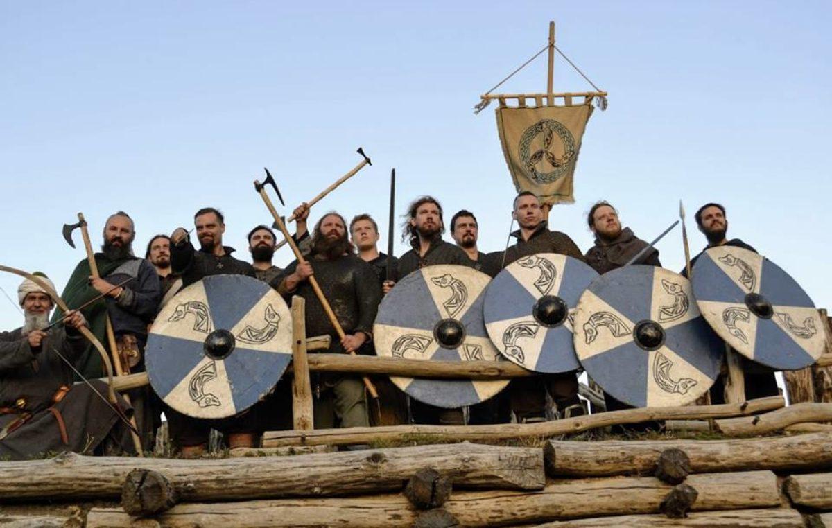 Chmurnicy, wojowie grodu Łekno przyjadą walczyć w Budzistowie