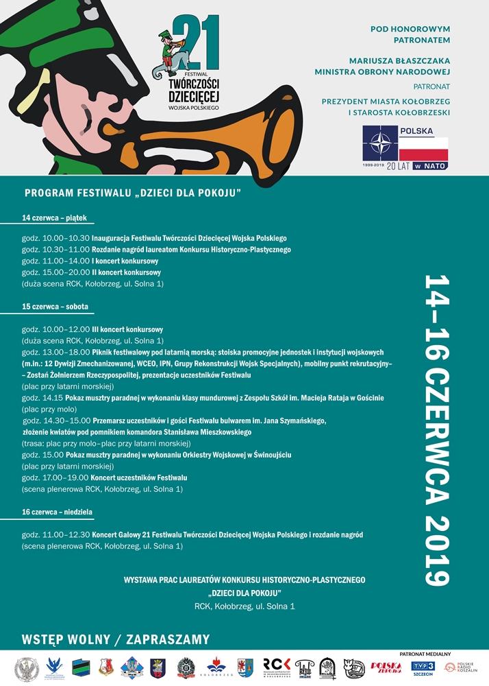 dWP - Piątek/sobota/niedziela, RCK, Ogólnopolski Przegląd Dziecięcej Twórczości Wojska Polskiego, wstęp wolny