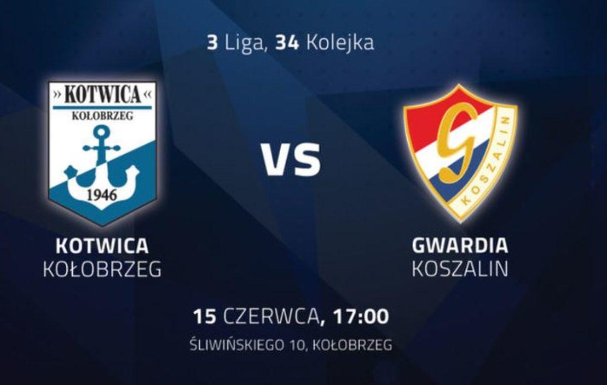 W sobotę derby Kotwica Kołobrzeg vs Gwardia Koszalin