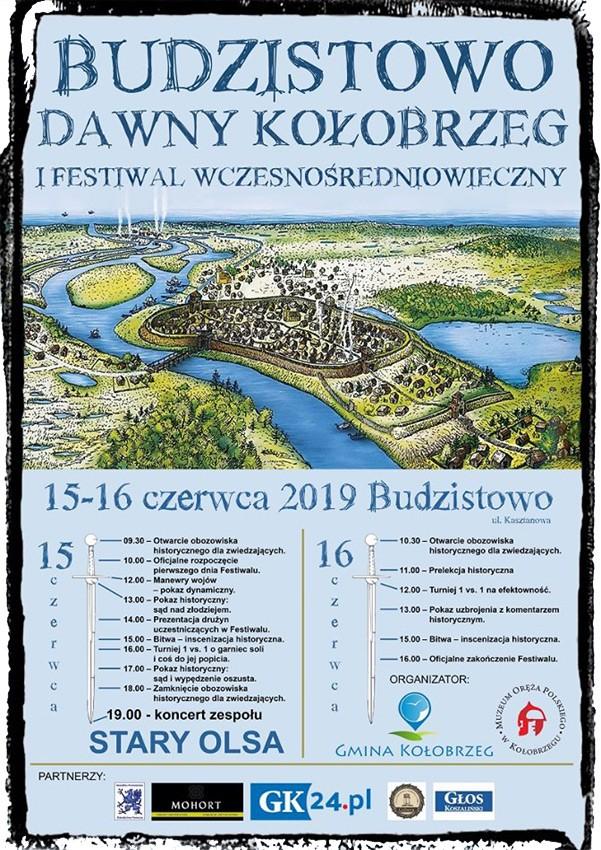 wczesnosredniowieczny - Sobota/niedziela, Budzistowo, I Festiwal Wczesnośredniowieczny, wstęp wolny