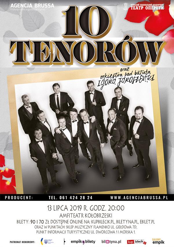 10 tenorow 1 - Jutro 10 Tenorów w amfiteatrze