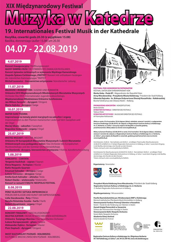 muzyka w katedrze p - Czwartek, bazylika, koncert Mater Sanctissima, godz. 20.30, bilety 25zł/20zł