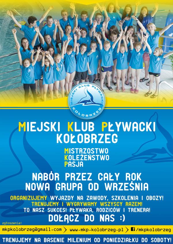 nabor mpk - Nabór do Miejskiego Klubu Pływackiego. Wkrótce odbędą się zajęcia otwarte