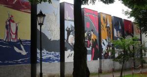"""Historyczny mural podoba się mieszkańcom. W mediach społecznościowych komentują:""""Piękny. Powinno być takich więcej"""""""