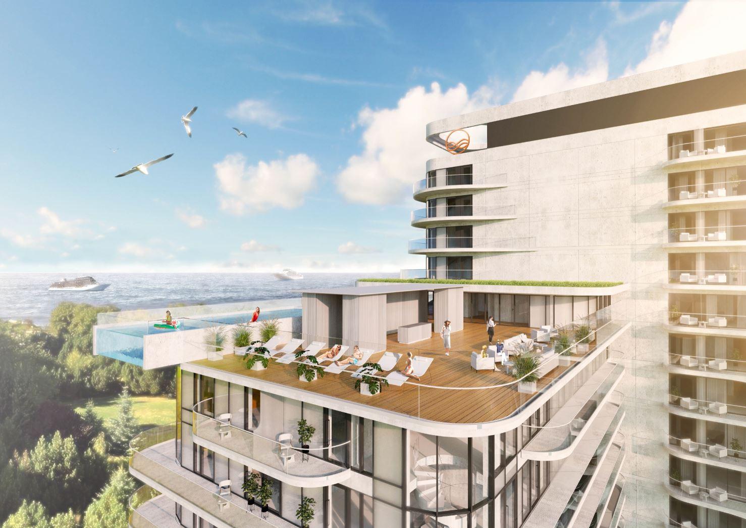 Baltic Wave 2 - Duży obiekt powstaje w dzielnicy uzdrowiskowej. Akurat teraz, gdy tyle się mówi o ograniczeniu zabudowy uzdrowiska