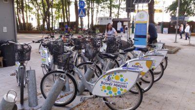 Rowery miejskie wrócą w tym roku nieco później niż zwykle