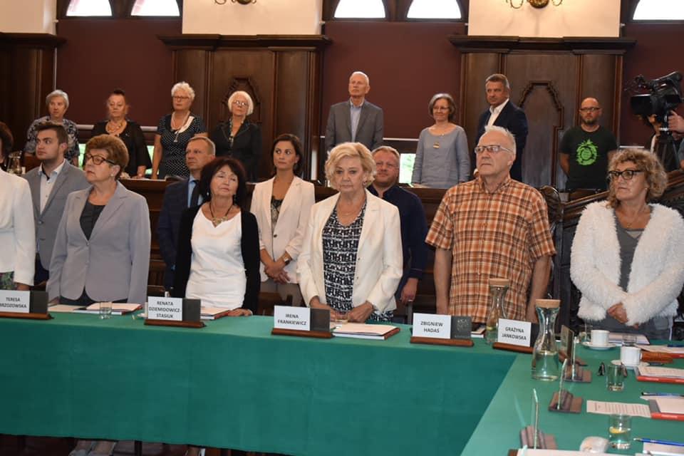 sesja2 - Sesja inauguracyjna Rady Seniorów. Krystyna Strzyżewska przewodniczącą RS