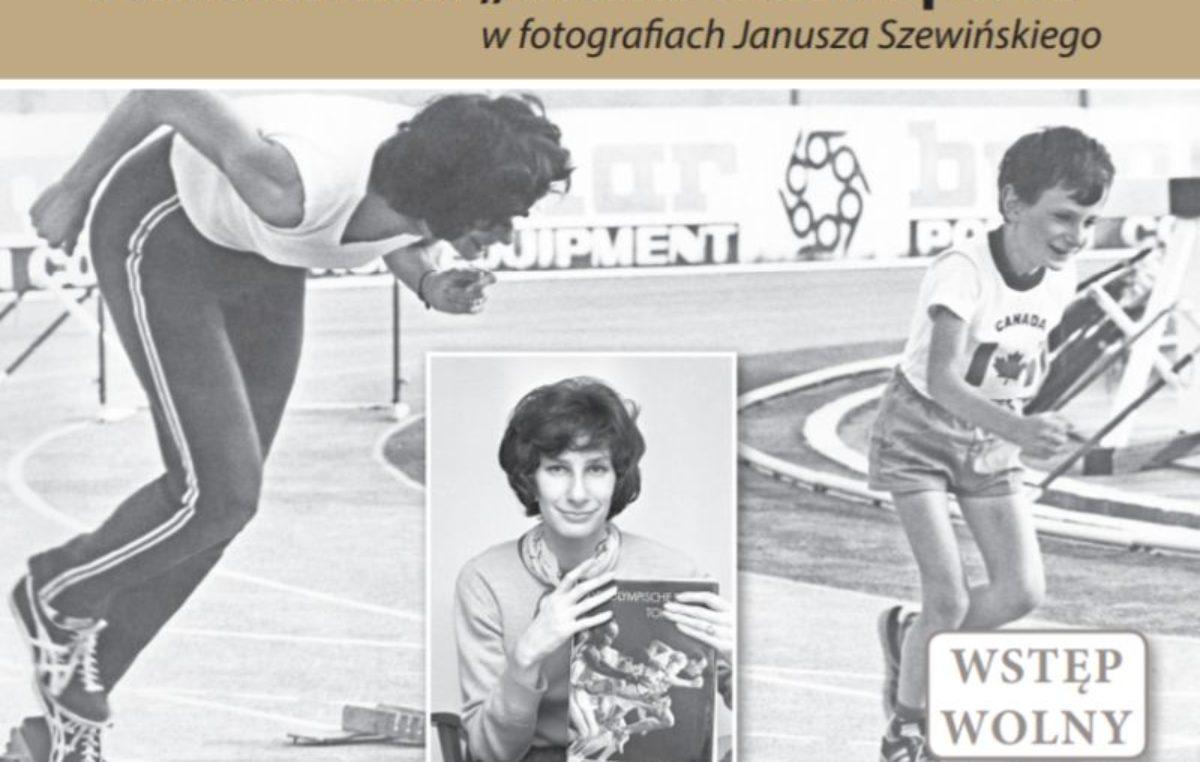 """Wystawa: """"Irena Szewińska. Wielka Dama sportu na fotografiach Janusza Szewińskiego"""""""