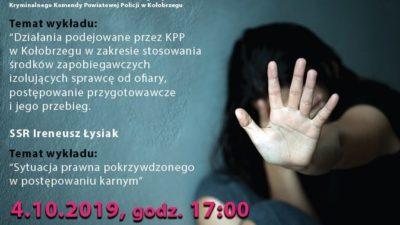 """""""Stop przemocy wobec kobiet"""". Darmowe wykłady w piątek"""