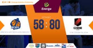 Energa Kotwica: Wysoka przegrana. Derby dla Czarnych (relacja pomeczowa)