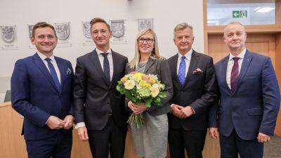 Anna Bańkowska w Zarządzie Województwa