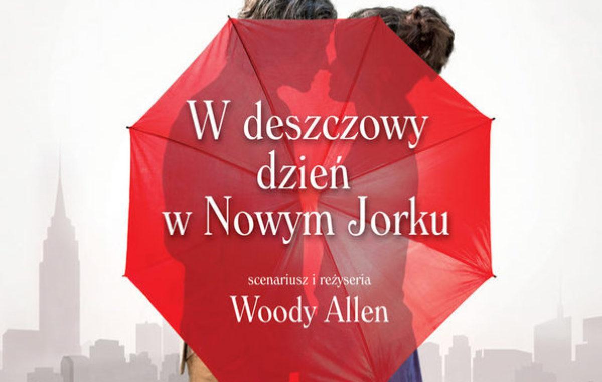 """Środa, kino RCK, film """"W deszczowy dzień w Nowym Jorku"""", godz. 16.30 i 19, bilety 12 zł"""
