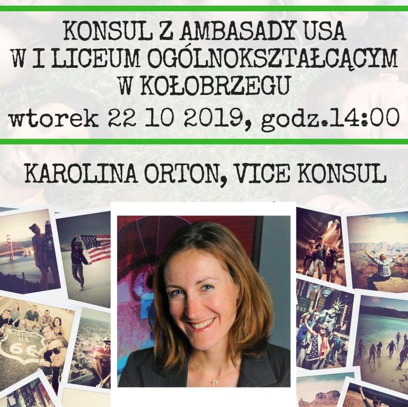 konsul usa 1 - Jutro spotkanie z vice konsul ambasady USA. Wśród tematów m.in. zniesienie wiz turystycznych