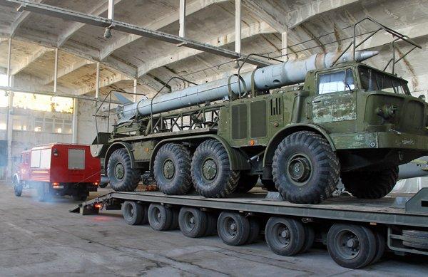 m IMG 7571 - Zestaw rakietowy Łuna-M przyjechał do Rogowa