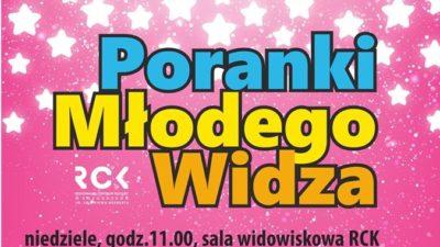 """Niedziela, RCK, Poranki Młodego Widza/spektakl """"Baleriny"""", godz. 11, bilety 12 zł"""