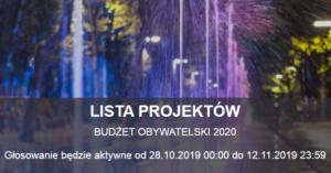 Głosowanie na projekty w ramach budżetu obywatelskiego jeszcze tylko do końca dnia