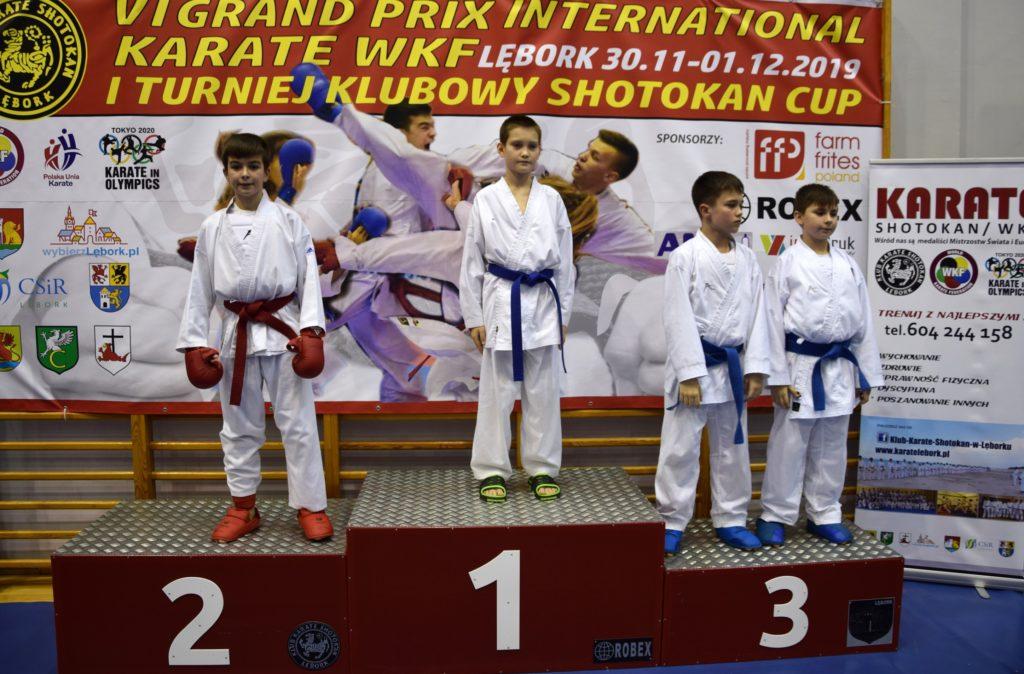 10 1024x674 - Karatecy z klubu Morote Głowaczewo na Międzynarodowym Turnieju Karate WKF zdobyli trzy medale