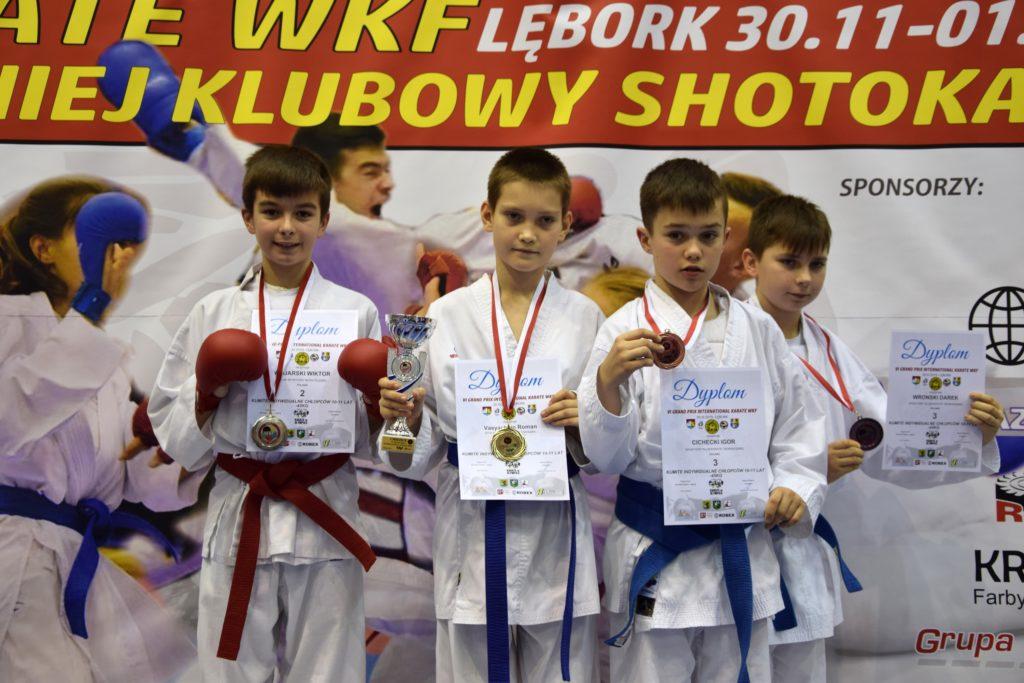 11 1024x683 - Karatecy z klubu Morote Głowaczewo na Międzynarodowym Turnieju Karate WKF zdobyli trzy medale
